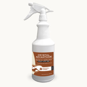 Crystal Advantage® Equine Fly Repellent: Ready-to-Use