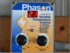 Phason variable speed controller