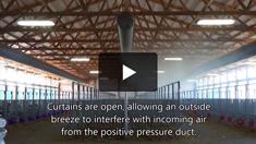 Natural Ventilation Disrupts Positive Pressure Ventilation