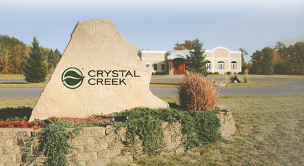 Crystal Creek natural livestock facilities in Wisconsin