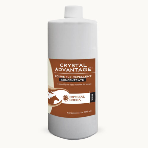 Crystal Advantage® Equine Fly Repellent: Concentrate