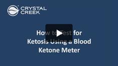 Ketosis BHBA Testing