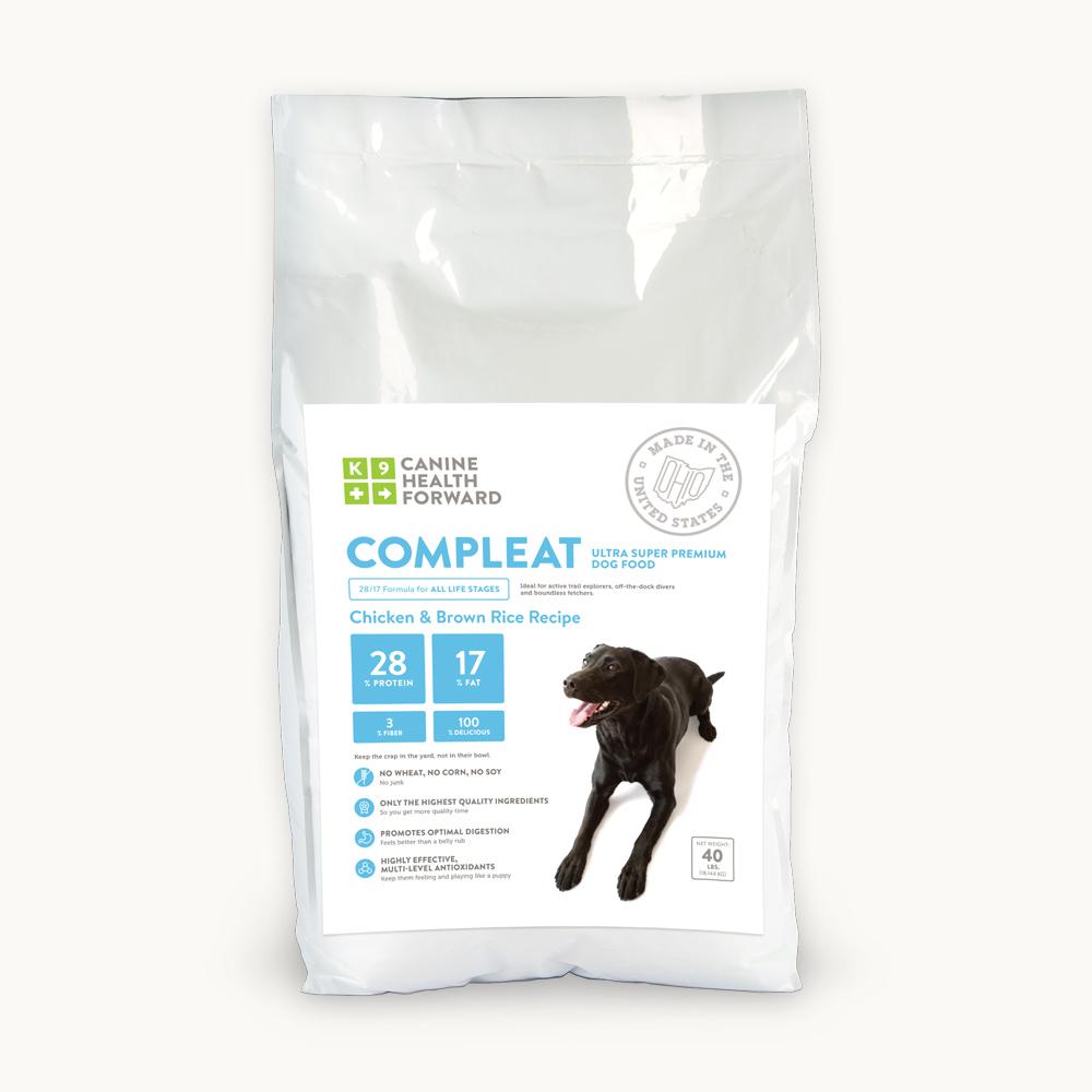 Advance Dog Food Fat Content